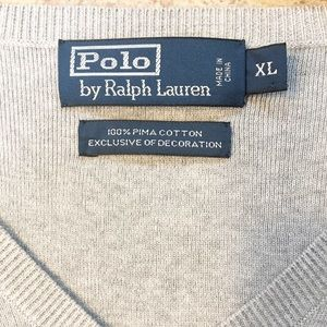 Polo by Ralph Lauren Sweaters - Men's Polo by Ralph Lauren sweater vest Grey XL